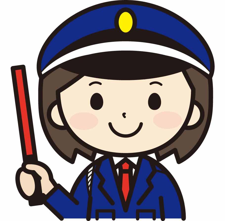 女性警備員
